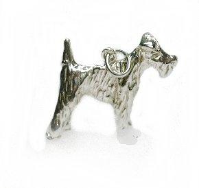 Zilveren airdale terrier