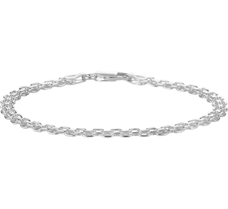 Zilver armband bismarck