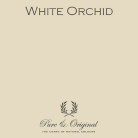 White Orchid - Pure & Original  Kaleiverf - gevelverf
