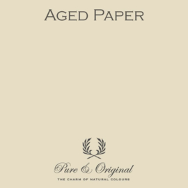 Aged Paper - Pure & Original  Traditional Paint