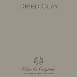 Dried Clay - Pure & Original  Kalkverf Fresco