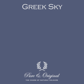 Greek Sky - Pure & Original  Kalkverf Fresco