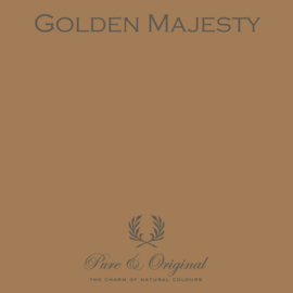 Golden Majesty - Pure & Original  Kalkverf Fresco