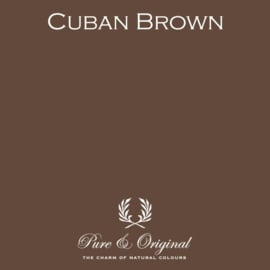 Cuban Brown - Pure & Original  Kalkverf Fresco