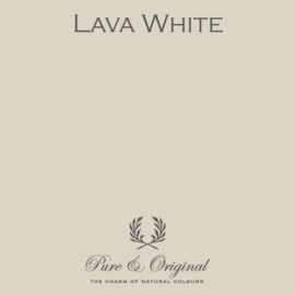 Lava White - Pure & Original  Kalkverf Fresco