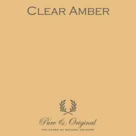 Clear Amber - Pure & Original  Kalkverf Fresco