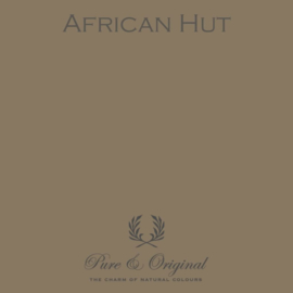 African Hut - Pure & Original  Traditional Paint