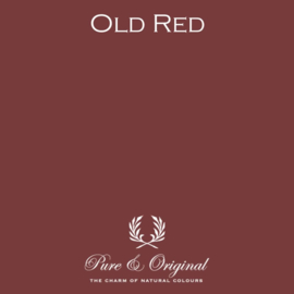 Old Red - Pure & Original  Kaleiverf - gevelverf