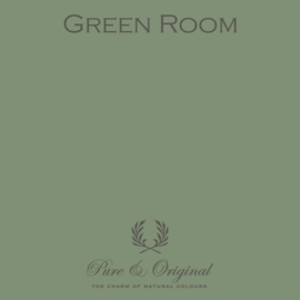 Green Room - Pure & Original  Kalkverf Fresco