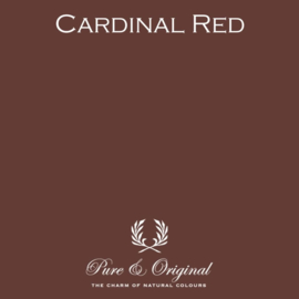Cardinal Red - Pure & Original  Kalkverf Fresco