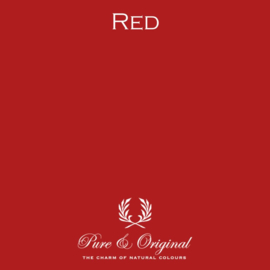 Red - Pure & Original  Kalkverf Fresco