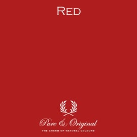 Red - Pure & Original  Traditional Paint