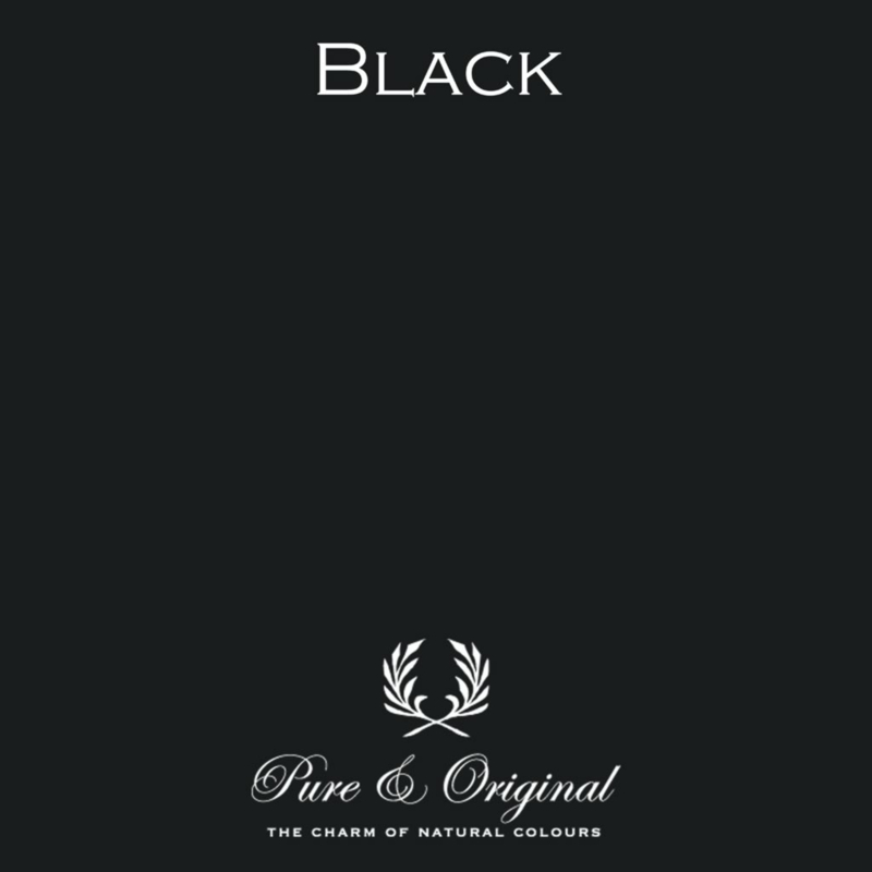 Black - Pure & Original  Traditional Paint