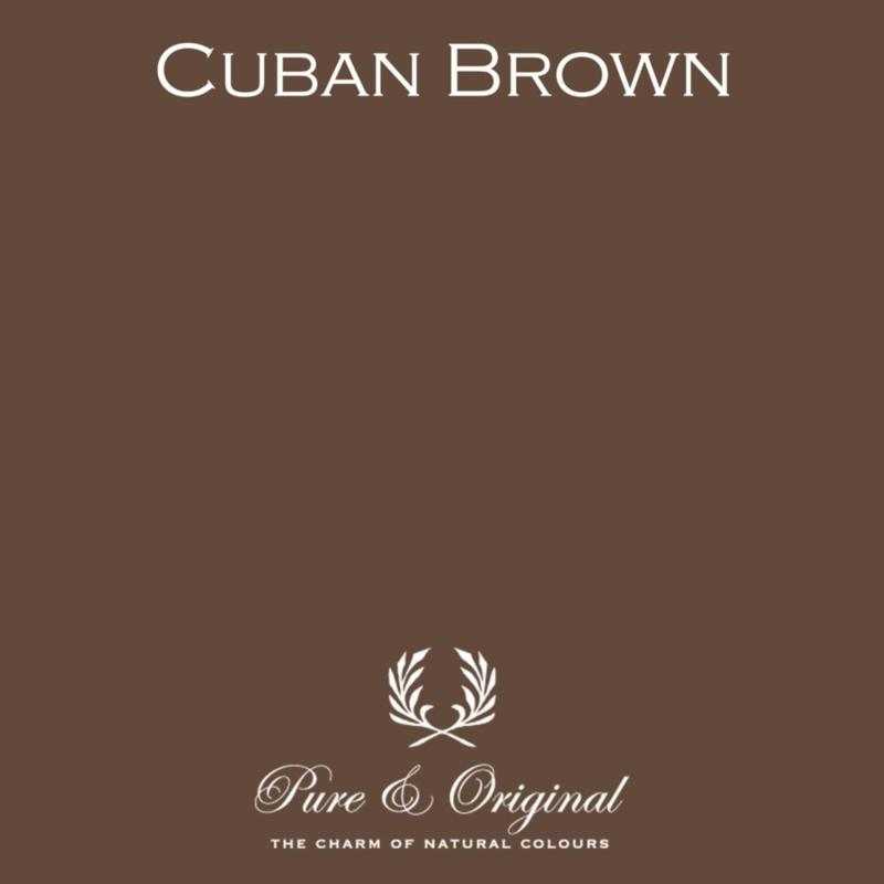 Cuban Brown - Pure & Original  Kalkverf Fresco