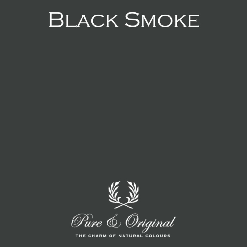 Black Smoke - Pure & Original  Kalkverf Fresco