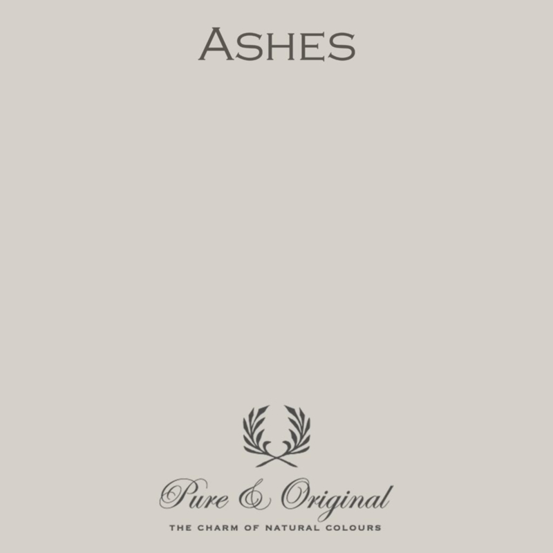 Ashes - Pure & Original  Kalkverf Fresco