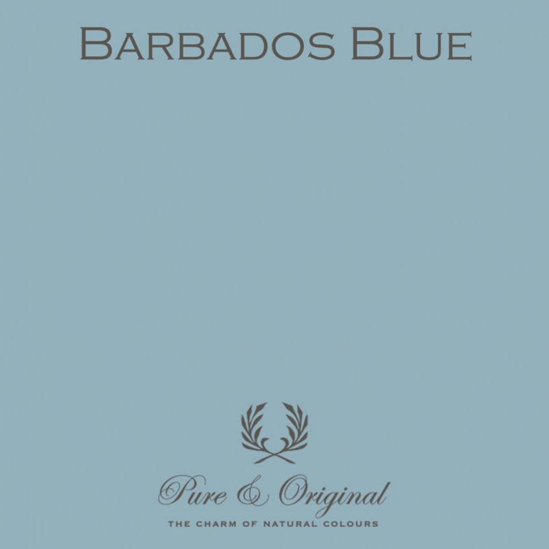 Barbados Blue - Pure & Original  Kalkverf Fresco