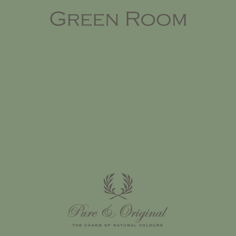Green Room - Pure & Original  Kalkverf Fresco
