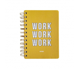 Notitieboek work work work hardcover