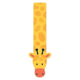 Boekenlegger Giraffe.
