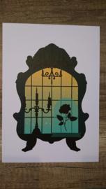 A4 poster Belle en het beest