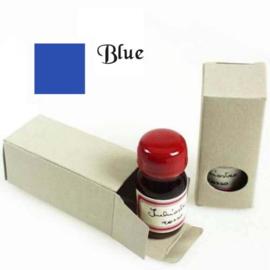 Schrijfinkt blauw