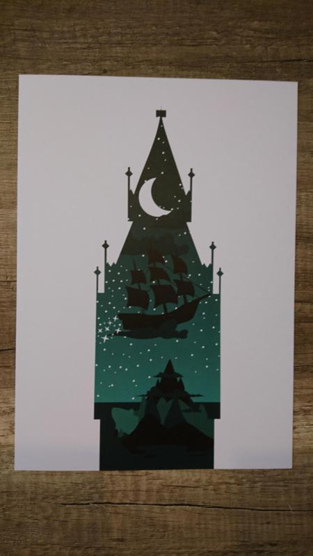 A4 poster Peter pan