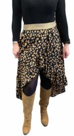 Ruffle Skirt Beige