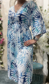 Mid Dress Blue Ocean