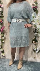 Dyvie Green/Blue Bee Dress