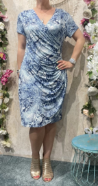 Lace Dress Blue Ocean (Plussize)