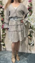 Dyvie Beige Flowy Dress