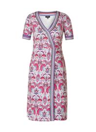 Kristianne Warm Fuchsia Multi color Dress