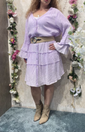 Dyvie Lila Flowy Dress
