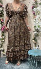 Flower Fowl Dress