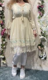 Ibiza Crème/beige Dress