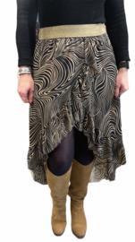 Ruffle Skirt Swirls