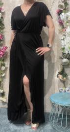 Black Long Dress Plussize