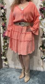 Dyvie Pink Flowy Dress
