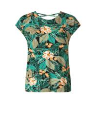 Lieselot Jungle Green-Multi Color Top