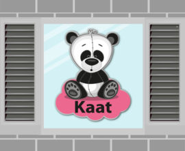 Raamsticker Kaat