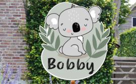 Geboortebord Bobbie - Koala