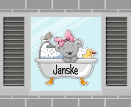 Raamsticker Janske