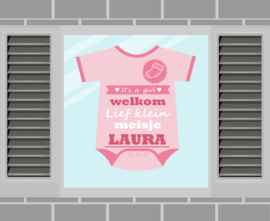 Raamsticker Laura
