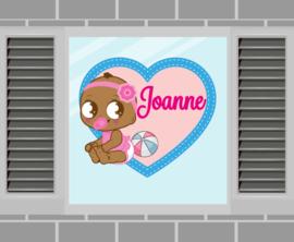 Raamsticker Joanne