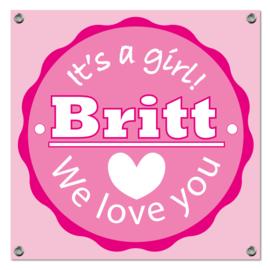 Spandoek Britt