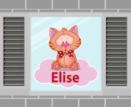 Raamsticker Elise
