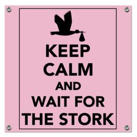 Spandoek Keep Calm roze