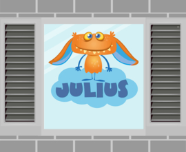 Raamsticker Julius