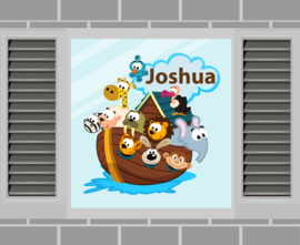 Raamsticker Joshua